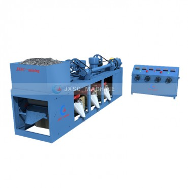 Three Disc Dry Magnetic Separator