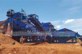 200TPH Diamond Processing Plant in Angola