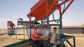 20TPH Alluvial Gold Wash Plant in Sudan