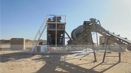 200TPH rock gold mining plant in Sudan