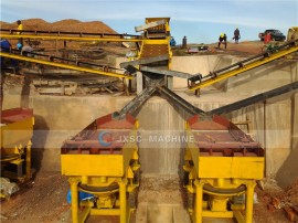 100TPH Coltan Processing Plant in Uganda