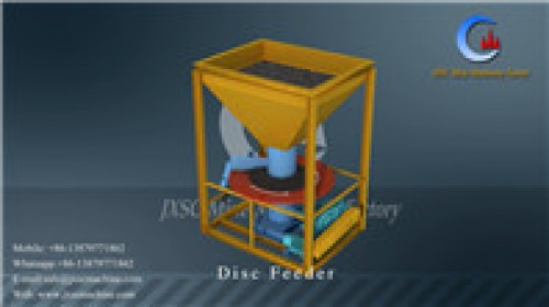 JXSC 1200 tph disc feeder for coltan processing plant