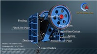 Big capacity Jaw crusher for big stone grinding