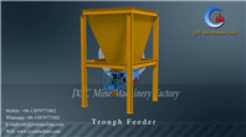 400/300 Trough Feeder for chrome ore mining plant