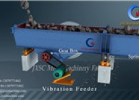 JXSC Factory supplied ZSW vibration feeder for rock gold mining plant