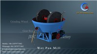0.074-1mm output cost effective wet pan mill for rock gold,rock tin ore grinding