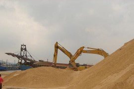 20TPH Beach Sand Mining Plant in India