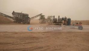 Dry Land Portable Gold Mining Equipment