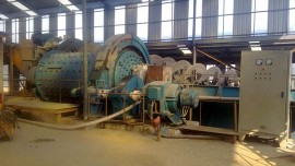 12TPH Lead Zinc Copper Ore Process Plant in Morocco