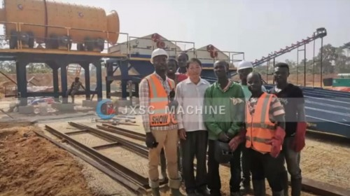 200TPH Alluvial Gold Wash Plant in Ghana