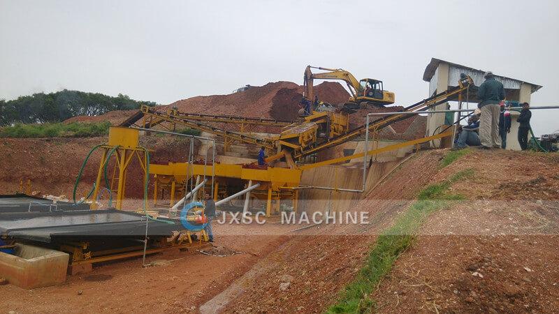 Coltan mining company