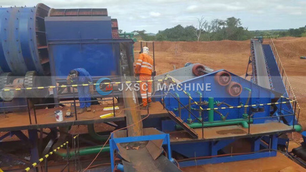 alluvial diamond mining equipment