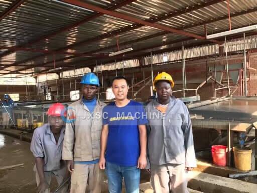 tin mining plant