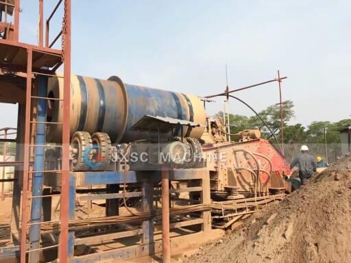 tin ore process plant