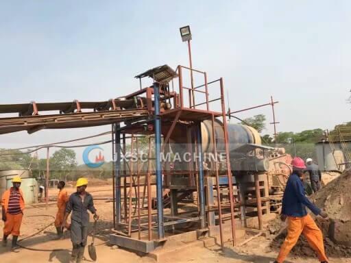 tin process plant