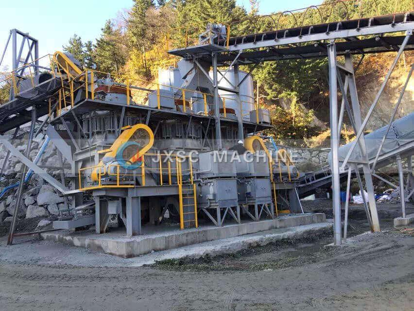 tungsten ore mining plant