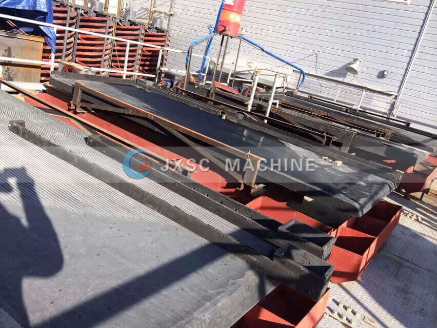 tungsten processing plant