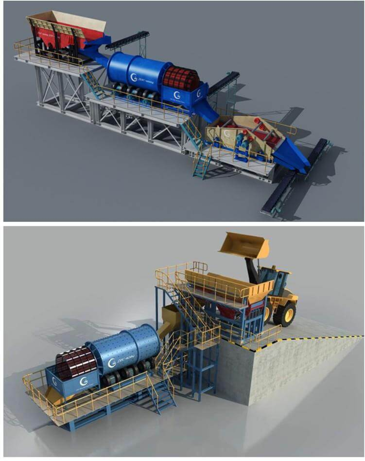 Angola 200TPH Diamond Washing Plant From JXSC