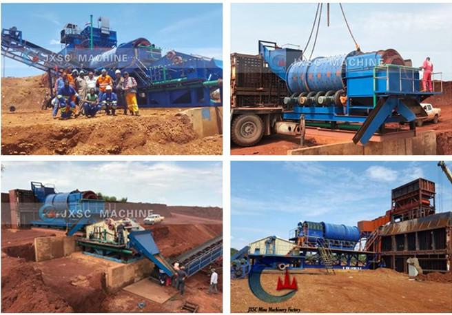 Angola 200TPH Diamond Washing Plant From JXSC 1