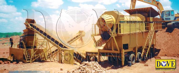 Figure 1 Dry Mining Plant
