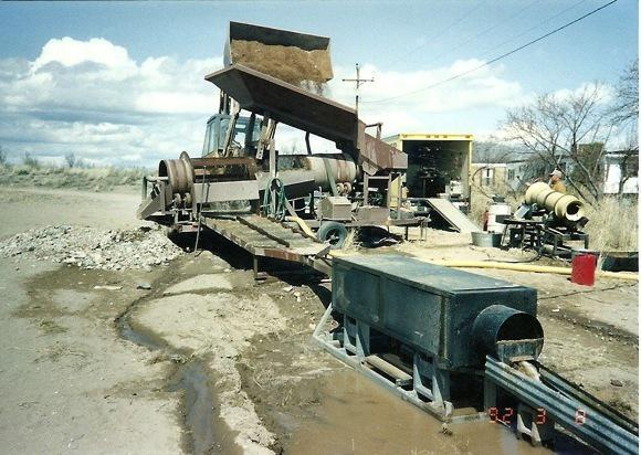 Figure 7 Portable Placer Mining Plant
