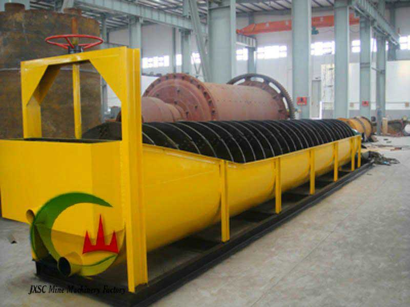 Ore-spiral-washer,-spiral-classifier-mining-equipment-for-silica-sand-washing