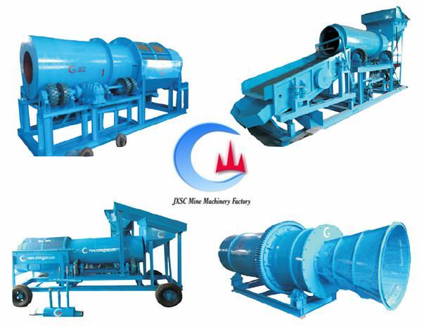 Tin mining equipment clay trommel wash plant in tin cassiterite ore processing