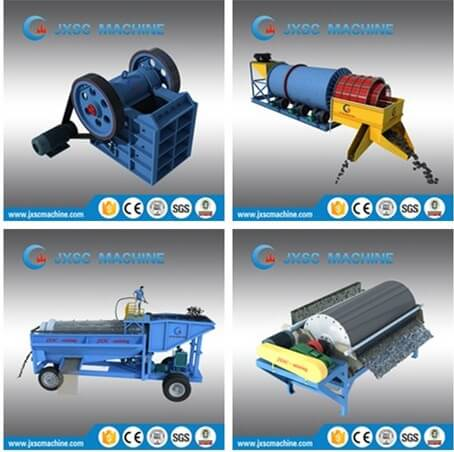 iron ore processing machine