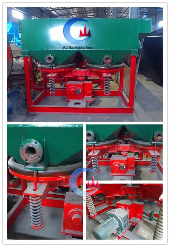 mineral processing diaphragm jigger