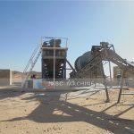 Sudan 20TPH rock gold mining plant