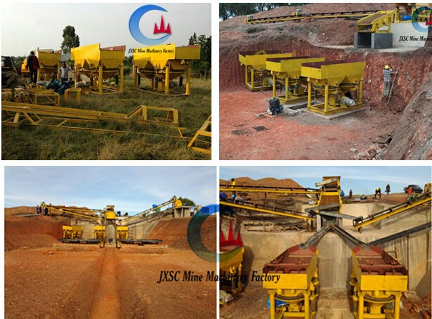 coltan mining jig concentrators