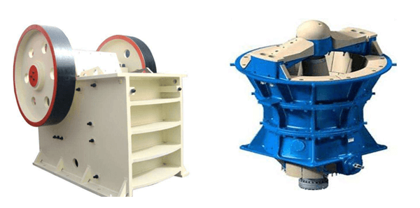 jaw crusher vs gyratory crusher