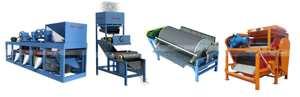 types of magnetic separator in mining industry