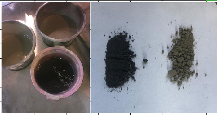 Chrome ore magnetic separation test