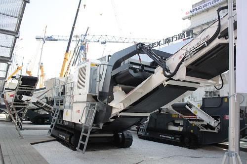 Terex 1-111(RS) crawler mobile crushing station