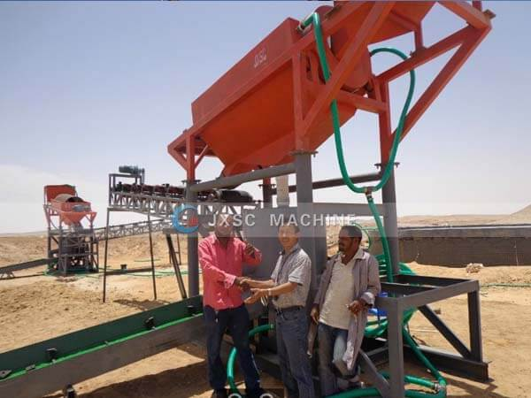 gold mining equipment in Sudan