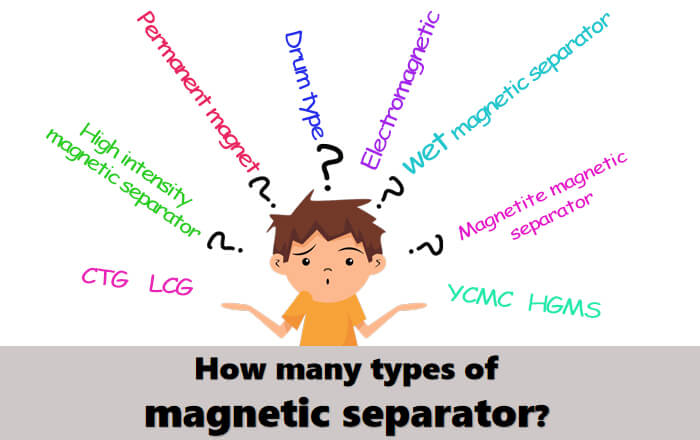 how many types of magnetic separator