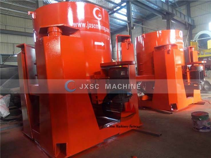 jig concentrator in MALI