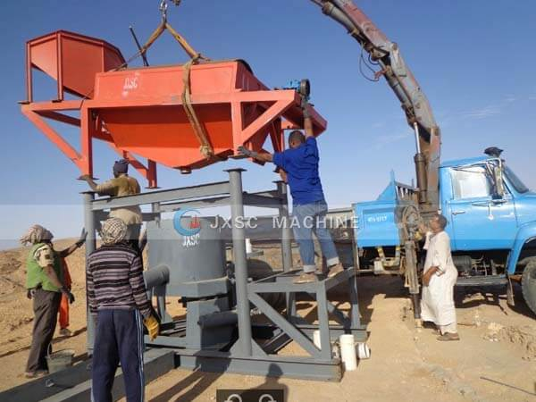 jxsc mining equipment in Sudan