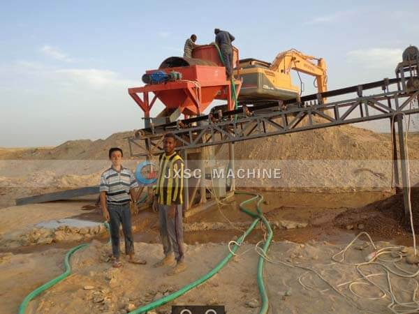 jxsc supply gold mining equipment for Sudan