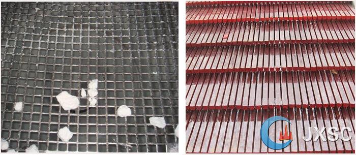 vibrating screen mesh and strip