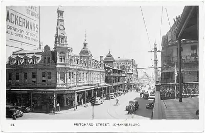 1940s Johannesburg