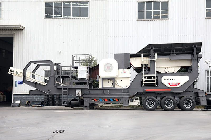 diesel engine mobile crusher