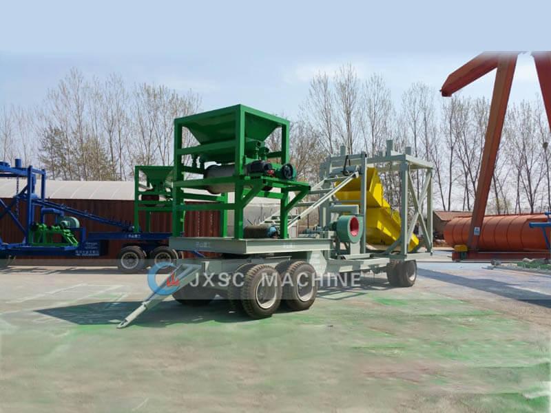 dry land gold mining equipment