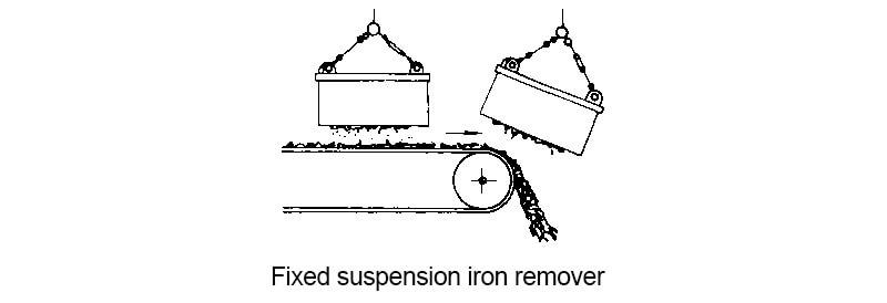 fixed suspension iron remover