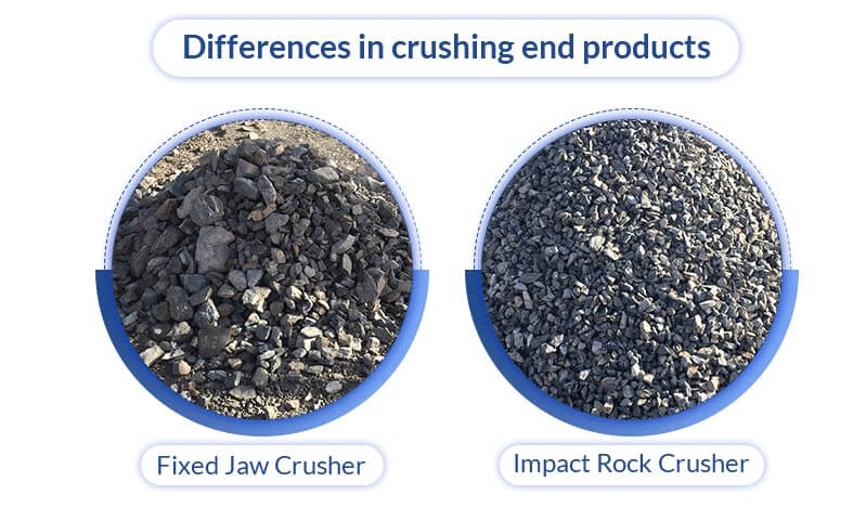 jaw crusher vs impact crusher