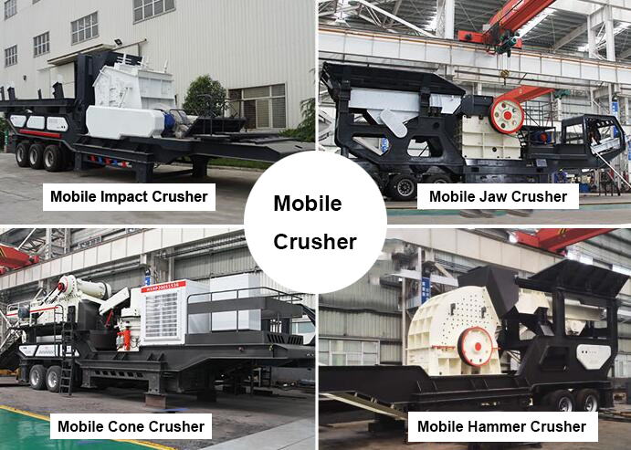 Types of Mobile Crushers