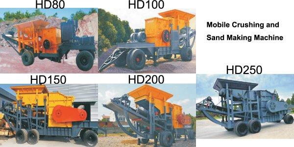 Mobile Sand Crusher