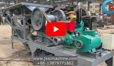 mobile crusher video